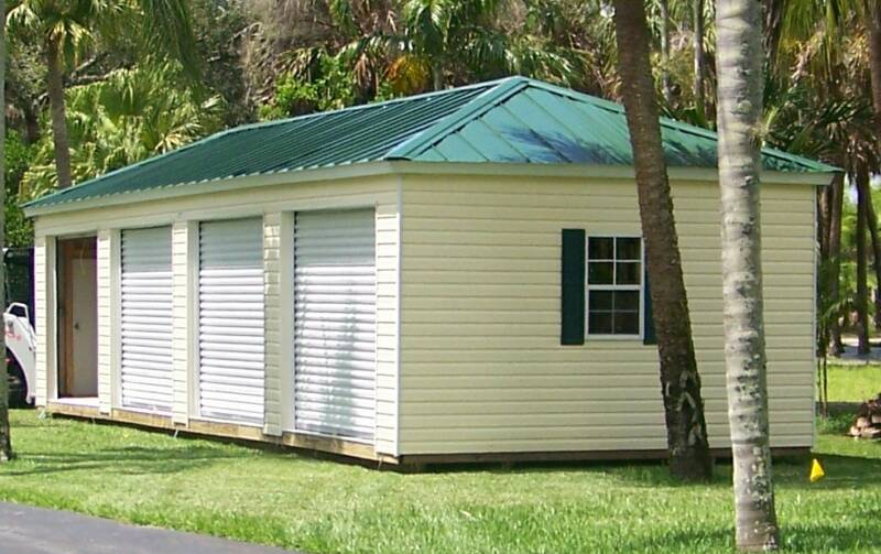 Portable Sheds Florida : Prefab storage buildings florida